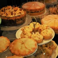 Great British baking: A selection of cakes and other sweets at Mornington Crescent | REBECCA SAUNDERS