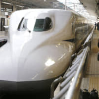 Tokaido Shinkansen line services will be reduced between Tokyo and Shin-Osaka stations later this month due to a plunge in passengers amid the COVID-19 outbreak. | KYODO