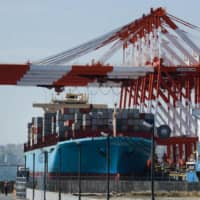Japan's February trade data released Wednesday shows suggests a cooling of business activity in the world's third-largest economy due to the coronavirus outbreak. | BLOOMBERG