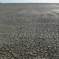 A dry reservoir in Isla Mayor, Spain | AFP-JIJI
