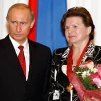 Pioneer to pariah: Russia's first woman in space criticized over amendment to extend Putin's power
