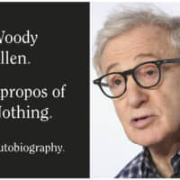 Th cover of 'Apropos of Nothing' and a file photo of Woody Allen | GRAND CENTRAL PUBLISHING / VIA AP, AP