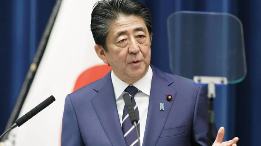 Abe uses news conference to battle criticism — and coronavirus