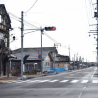 The district of Odaka in Minamisoma, Fukushima Prefecture, has regained only around 30 percent of its pre-disaster population, and most of them are elderly people. | MASUMI KOIZUMI