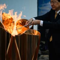 Like 'a canary in a coal mine': Olympic torch relay could foreshadow postponement of Tokyo Games