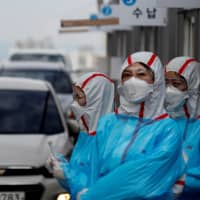 Niigata opens drive-thru coronavirus test clinic amid growing demand