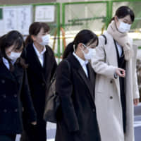Spreading virus cases ruin job-hunting events and shut down Toyosu market