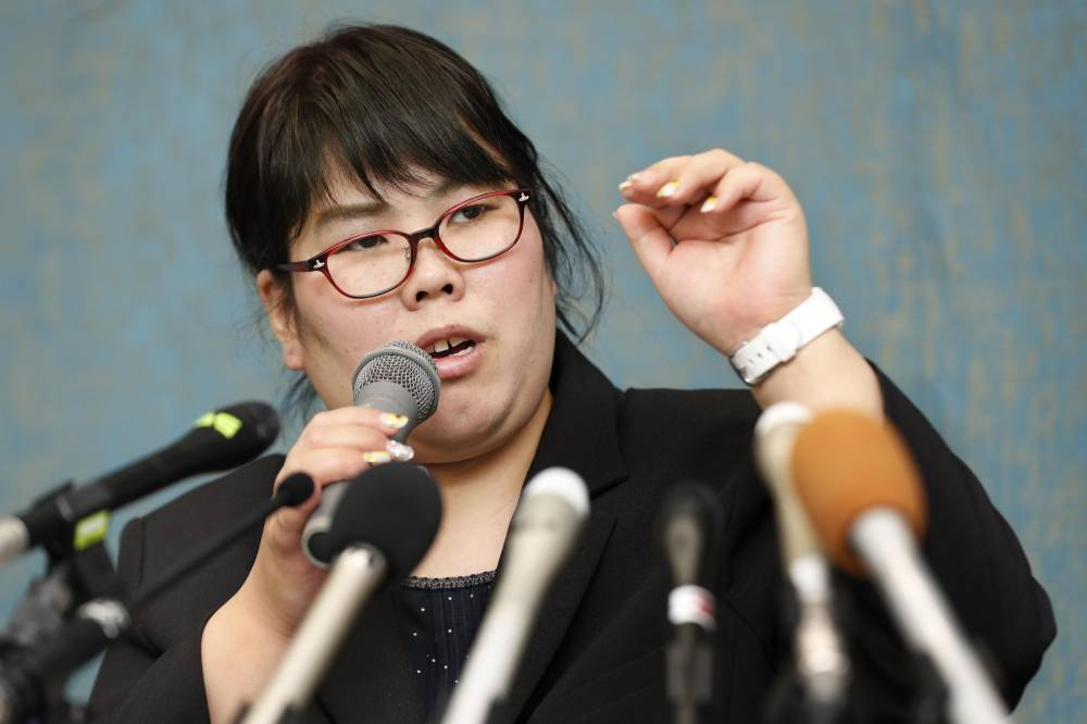 Former assistant nurse Mika Nishiyama served 12 years in prison. She was granted a retrial after release over her conviction that she murdered a patient in May 2003 in Shiga Prefecture. She is expected to be acquitted on March 31. | KYODO