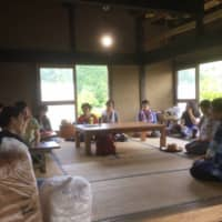 The Tsukuba Green Tourism Association hosts a variety of activities in a traditional thatched roof house at the foot of Mount Tsukuba in Ibaraki Prefecture.