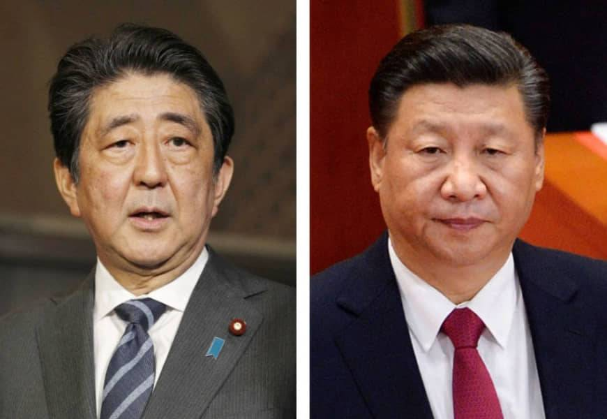 Prime Minister Shinzo Abe and Chinese President Xi Jinping will have a telephone talk soon, China's ambassador to Japan said. | KYODO