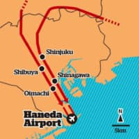 Haneda Airport's new flight paths | THE JAPAN TIMES