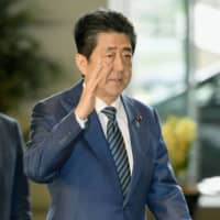 Speculation is growing that Prime Minister Shinzo Abe will call a snap election. | KYODO