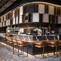 Kitchen style: YuiDesign's work for Wild Ink in Hudson Yards, New York | EVAN SUNG