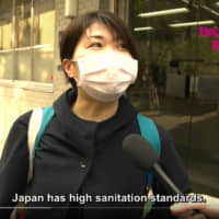 Window on the world: YouTube channels such as That Japanese Man Yuta feature interviews with Japanese people on global topics such as the new coronavirus. | VIA YOUTUBE