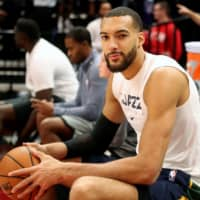 Jazz center Rudy Gobert is recovering from COVID-19, days after he became the first NBA player to test positive. | AFP-JIJI