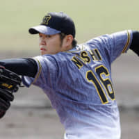 Tigers hurler Yuki Nishi is entering his second season with the Central League club. Nishi is slated to start the season opener for Hanshin on a to-be-announced date. | KYODO