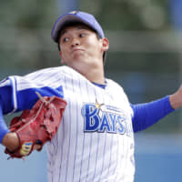 BayStars manager Alex Ramirez wants more from rookie pitcher Yuya Sakamoto