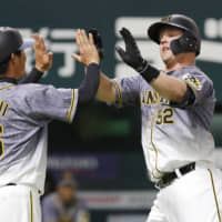 Hanshin's Jerry Sands hoping to beat odds in NPB