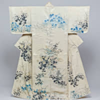 Important Cultural Property Kosode ('small sleeve opening') hand-painted by Ogata Korin. | COLLECTION OF TOKYO NATIONAL MUSEUM
