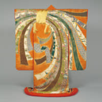 Important Cultural Property Furisode ('long-sleeve') from the 18th century. | COLLECTION OF TOKYO NATIONAL MUSEUM