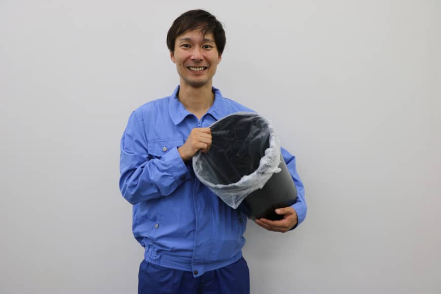 Shuichi Takizawa, 43, now works five times a week as a garbage collector as he struggles to book comedy gigs, typically his main source of employment. | KYODO