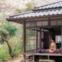 Laid-back lifestyle: This traditional Japanese house, built 77 years ago in the hills of Akiya, just outside Hayama, is where Chieko Hirota has her studio. Hirota's specialty is saijiki, the seasonal words and phrases that enrich Japanese art and poetry. Sitting on her veranda, she employs all five senses to absorb the essence of each season, a practice that she says greatly enhances her understanding of saijiki. | SHOGO OIZUMI