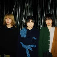 Rock royalty: Regal Lily (from left: Umi, Honoka Takahashi, Yukiyama) had to cut short a tour promoting the band's first full-length album, 'bedtime story,' due to the COVID-19 pandemic. | SYUYA AOKI