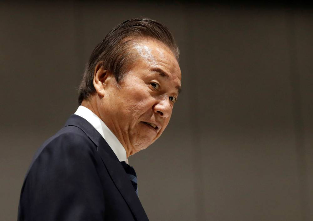 Haruyuki Takahashi, a former executive at advertising agency Dentsu Inc., was paid $8.2 million by the committee that spearheaded Tokyo's bid for the 2020 Games. | REUTERS