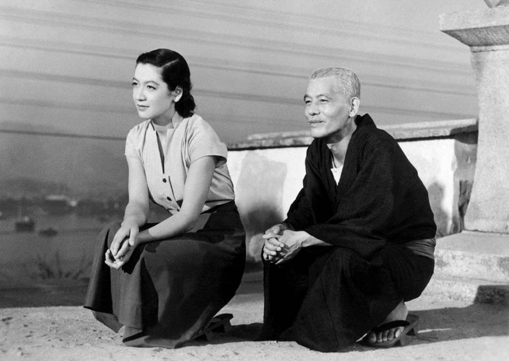 A classic of the silver screen: Actors Setsuko Hara (left) and Chishu Ryu in 'Tokyo Story' (1953), directed by Yasujiro Ozu.