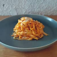 Out's fettuccine with tomato & basil sauce | COURTESY OF OUT