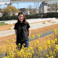 Sticking to her roots: It took Kei Kawana two years to find a plot to rent in Tokyo for Neighbor's Farm, which celebrated its first anniversary in March. | CHIARA TERZUOLO