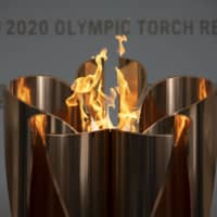 Virus fears halt public display of Olympic flame in Fukushima