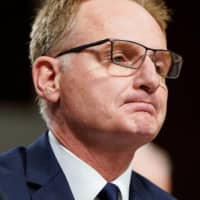 Acting U.S. Navy Secretary Thomas Modly testifies to the Senate Armed Services in December.  | REUTERS