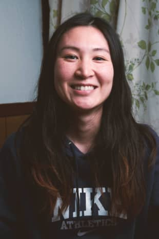 Sticking out: Vegetarian Yumi Fujisawa acknowledges how socially and professionally challenging it is to be the sole vegetarian in a group of meat-eaters. | STEPHAN JARVIS