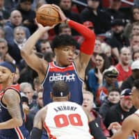Sky's the limit for Rui Hachimura, says All-Star teammate Bradley Beal