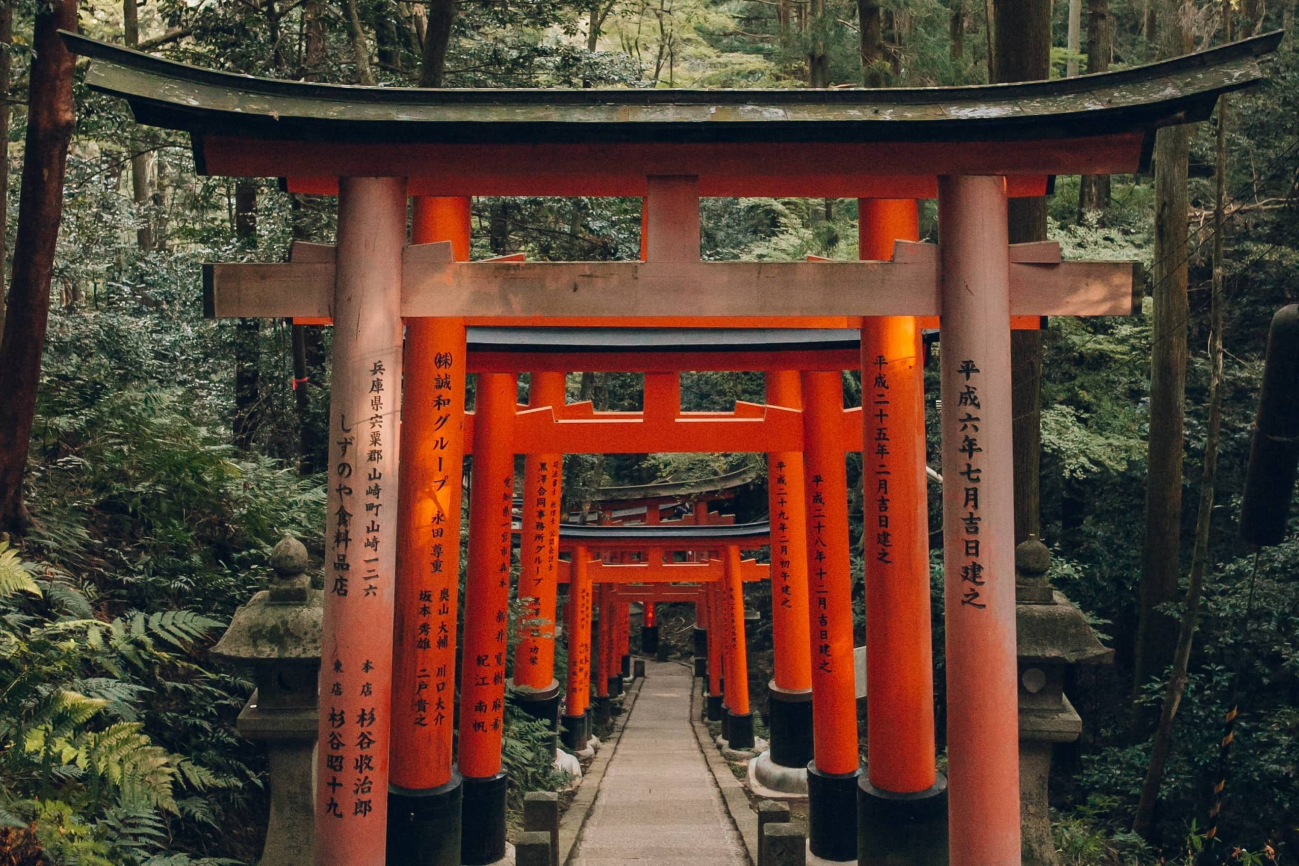 The Fushimi Inari Taisha shrine in Kyoto is one of Japan's most photogenic places to visit. | COURTESY OF HAARKON ADVENTURES