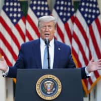 Trump says U.S. investigating whether virus came from Wuhan lab