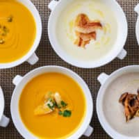 Flavorful soup and baked goods to go