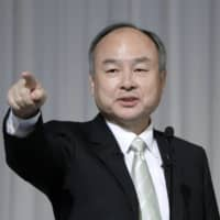 Masayoshi Son, chairman and chief executive officer of SoftBank Group Corp., has again criticized the government's response to the coronavirus pandemic in Japan.  | BLOOMBERG