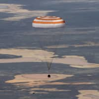 'More isolated on Earth': Astronauts return to planet transformed by pandemic
