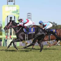 Unbeaten Contrail soars to victory at Satsuki-sho