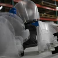 Ricoh starts face shield production in Japan for virus front lines