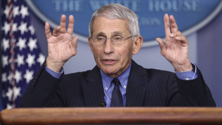 Anthony Fauci: America's love affair with an elderly epidemiologist