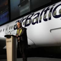 Air Baltic Corp. Martin Gauss says the airline is looking to grow once the COVID-19 outbreak calms down. | BLOOMBERG