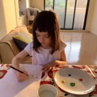 Portrait of the artist: Taking inspiration from Joan Miro in a fun art-focused activity.  | DANIELLE DEMETRIOU