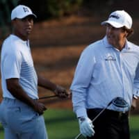 Tiger Woods promises some trash talk for event with Phil Mickelson, Tom Brady, Peyton Manning