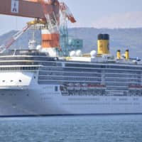 Uninfected crew on cruise ship in Nagasaki to be sent home