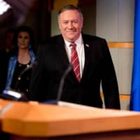 Mike Pompeo says no sight of Kim but a real risk of famine in North Korea