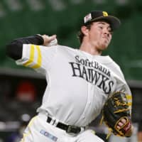 Hawks pitcher Carter Stewart eager to prove himself in Japan