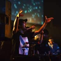 Making progress: Electronic label Trekkie Trax moved on to hosting events at Club Asia after growing in the ranks of smaller Tokyo clubs. | DJ WILDPARTY
